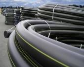 Труба полиэтиленовая для газо- и водоснабжения и канализации