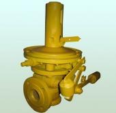 Клапан запорный ПКН (В) -50