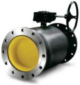 Шаровые краны для жидкости с механическим редуктором (LD)