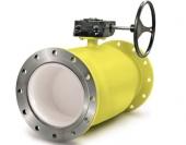 Шаровые краны для газа с механическим редуктором (LD)